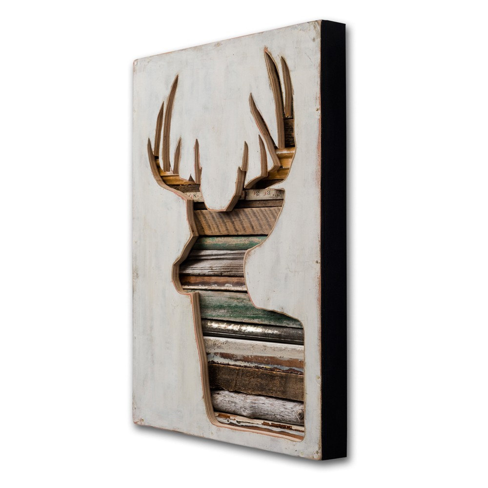 Dishfunctional designs pass the buck trendy antlered for Home decor hwy 6