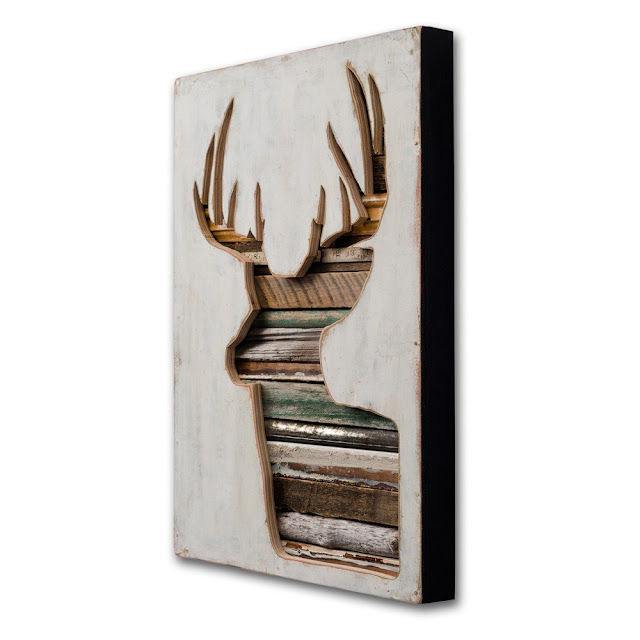 Dishfunctional designs pass the buck trendy antlered for Home decor on highway 6