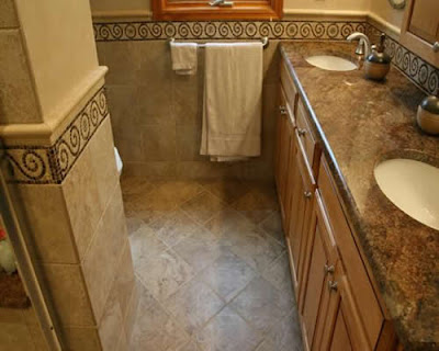 Bathroom Floor Tile Designs on Bathroom Tile Ideas   Modern Interior Design