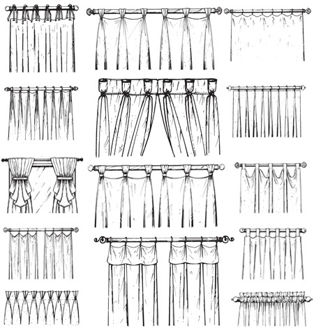 Styles Of Curtains