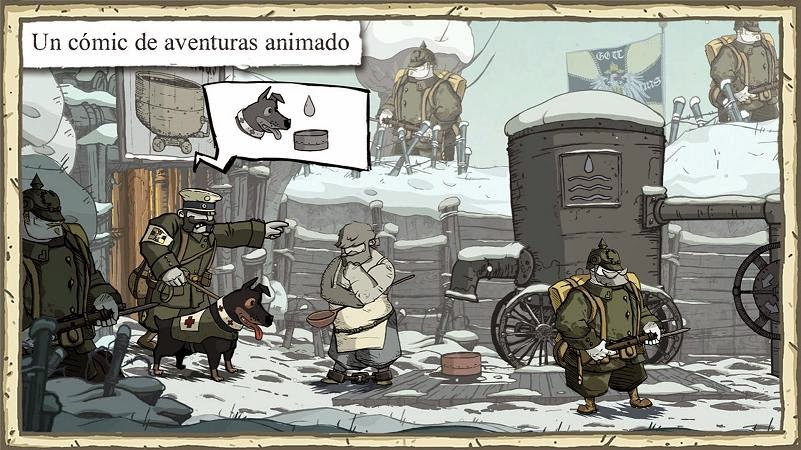 Valiant Hearts: The Great War ya disponible para Android e iOS