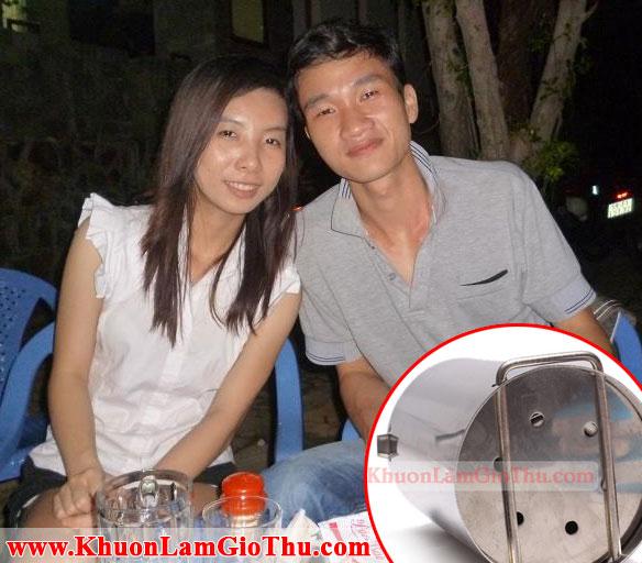 Khuôn Làm Giò Thủ Inox Giao Cho A Ngô Duy Linh
