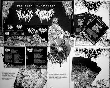 CLAWS/GRAVE WAX split -
