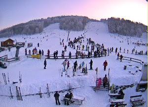 Ski pistes op 10 minuten