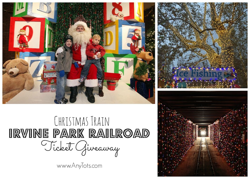 Irvine Park Railroad Christmas Train Ticket Giveaway ...