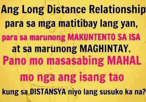 tagalog long distance relationships quotes image 2 pinoy