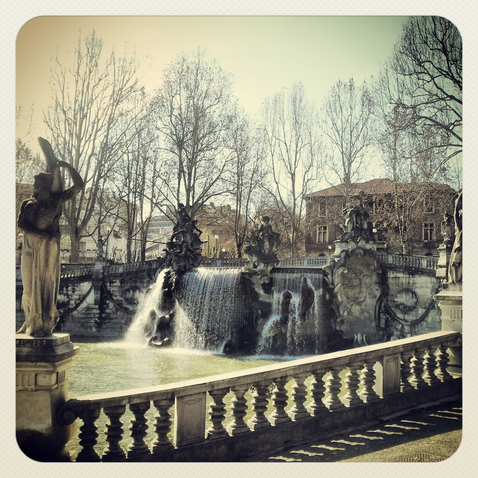 Twelve Months Fountain, Valentino Park, Turin