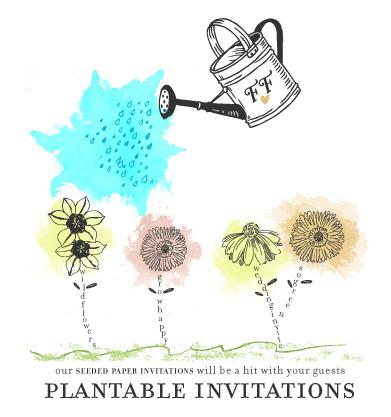 Plantable Invitations