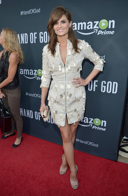 Actress @ Stana Katic - Hand of God screening in LA