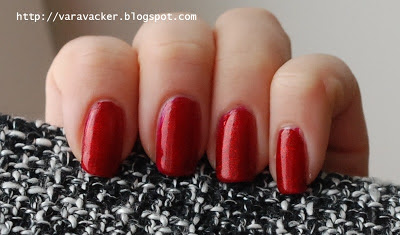 naglar, nails, nagellack, nail polish, china glaze, ruby pumps, red, rött