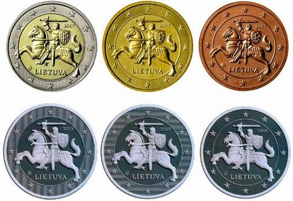 Erik J Van Loon Munteninfo Lithuanian Euro Coins