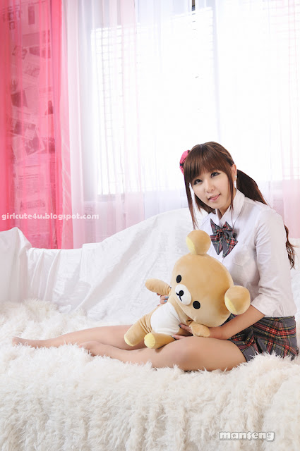 3 Ryu Ji Hye-School Girl-very cute asian girl-girlcute4u.blogspot.com