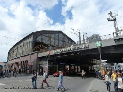 friedrichstrasse, bahnhof