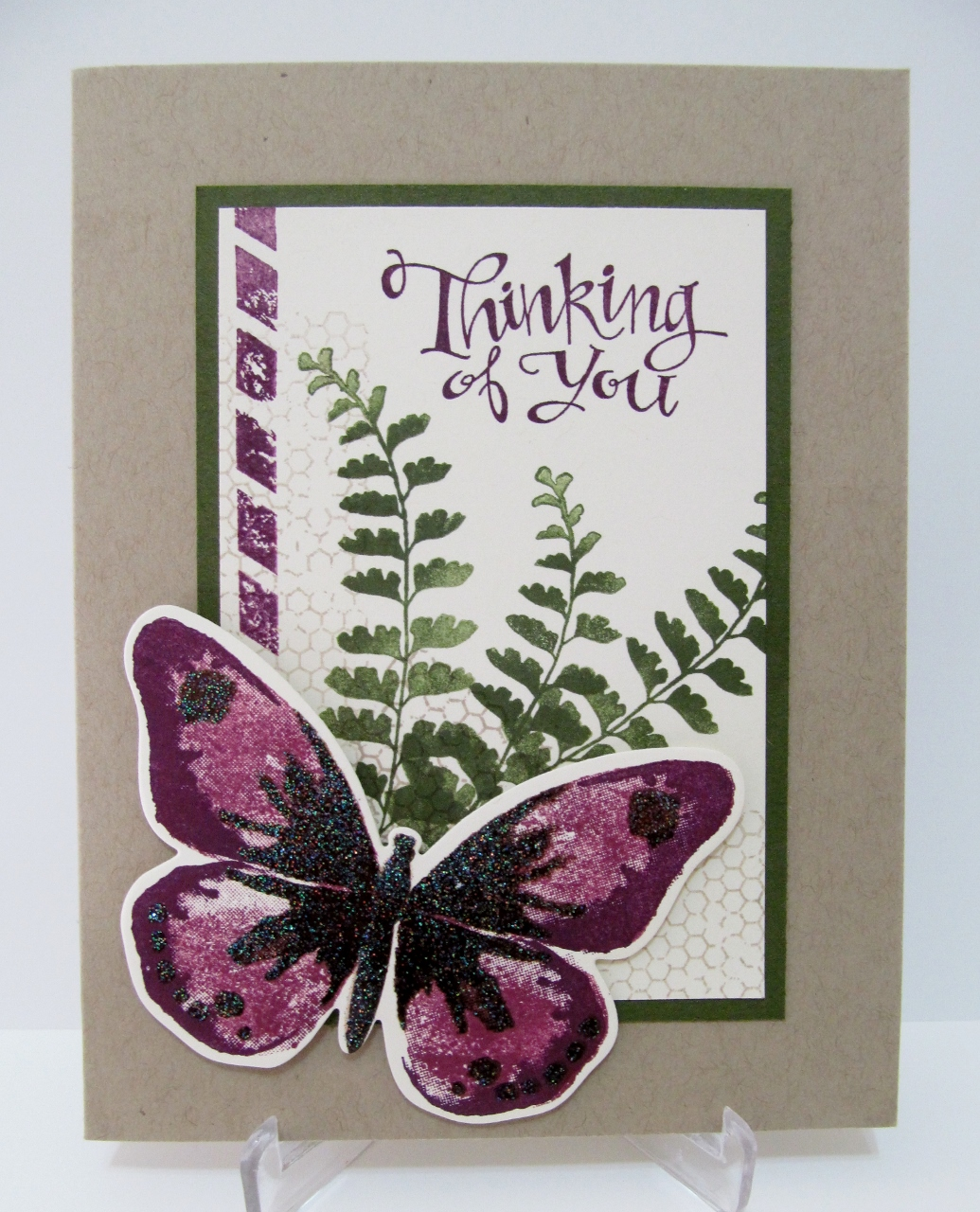 Savvy Handmade Cards Thinking Of You Card
