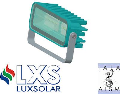 Luxsolar deniz ikaz lambaları, IALA sertifikalı.