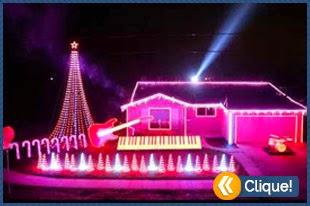 A melhor decoração de natal que você vai ver
