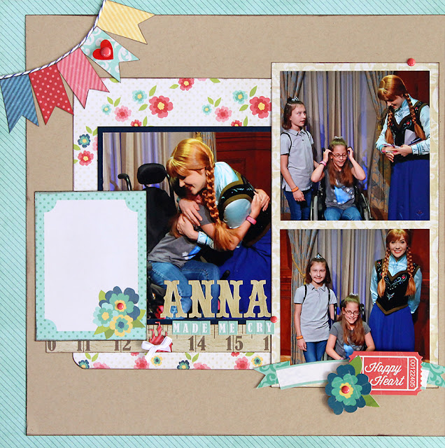 Anna_Frozen_Scrapbook Page_My Creative Scrapbook Kit