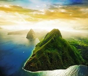 St. Lucia Pemandangan Terindah di Dunia