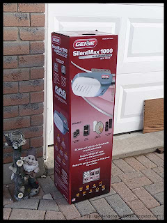 new Genie 3/4 HP garage door opener