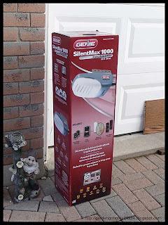 new Genie 3/4 HP garage door opener