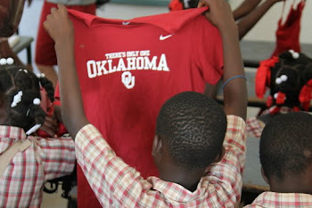 Sooners in Haiti!