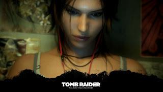Tapeta z gry Tomb Raider 1920x1080: Lara Croft zamyślona