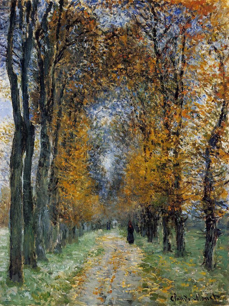 Art artists claude monet part 9 1877 1878 for Claude monet impressionist paintings