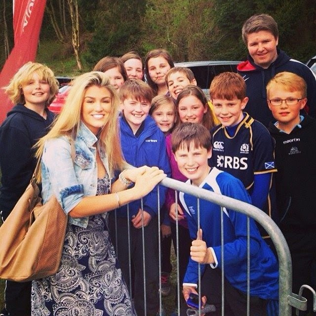 Amy Willerton shares a few images into her Instagram account on Sunday, April 27, 2014