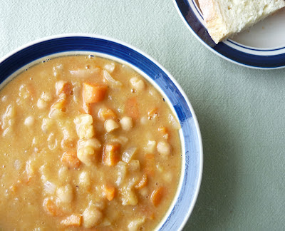Soup Made With Kahl Beans