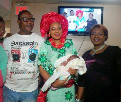 More Photos From Sola Kosoko's Baby Dedication Ceremony