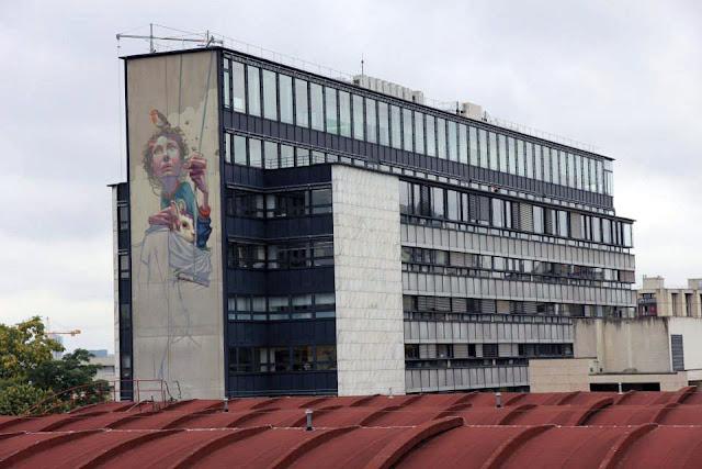 Street Art By Polish Muralist Sainer From Etam Cru In Paris, France. 3