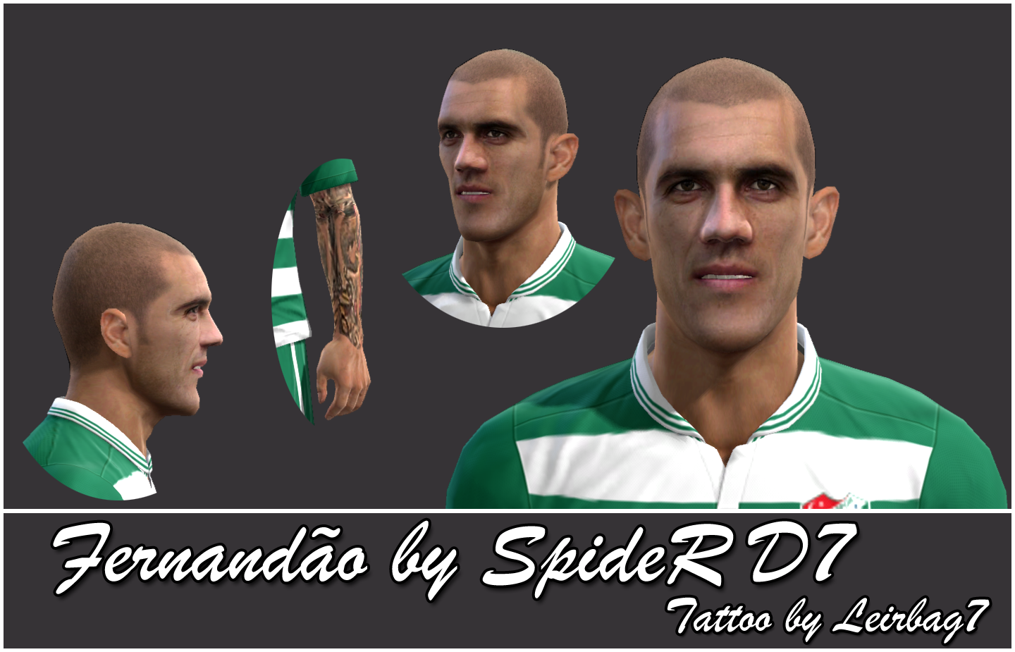 PES 2013 Fernandão (Bursaspor) Face by SpideR D7