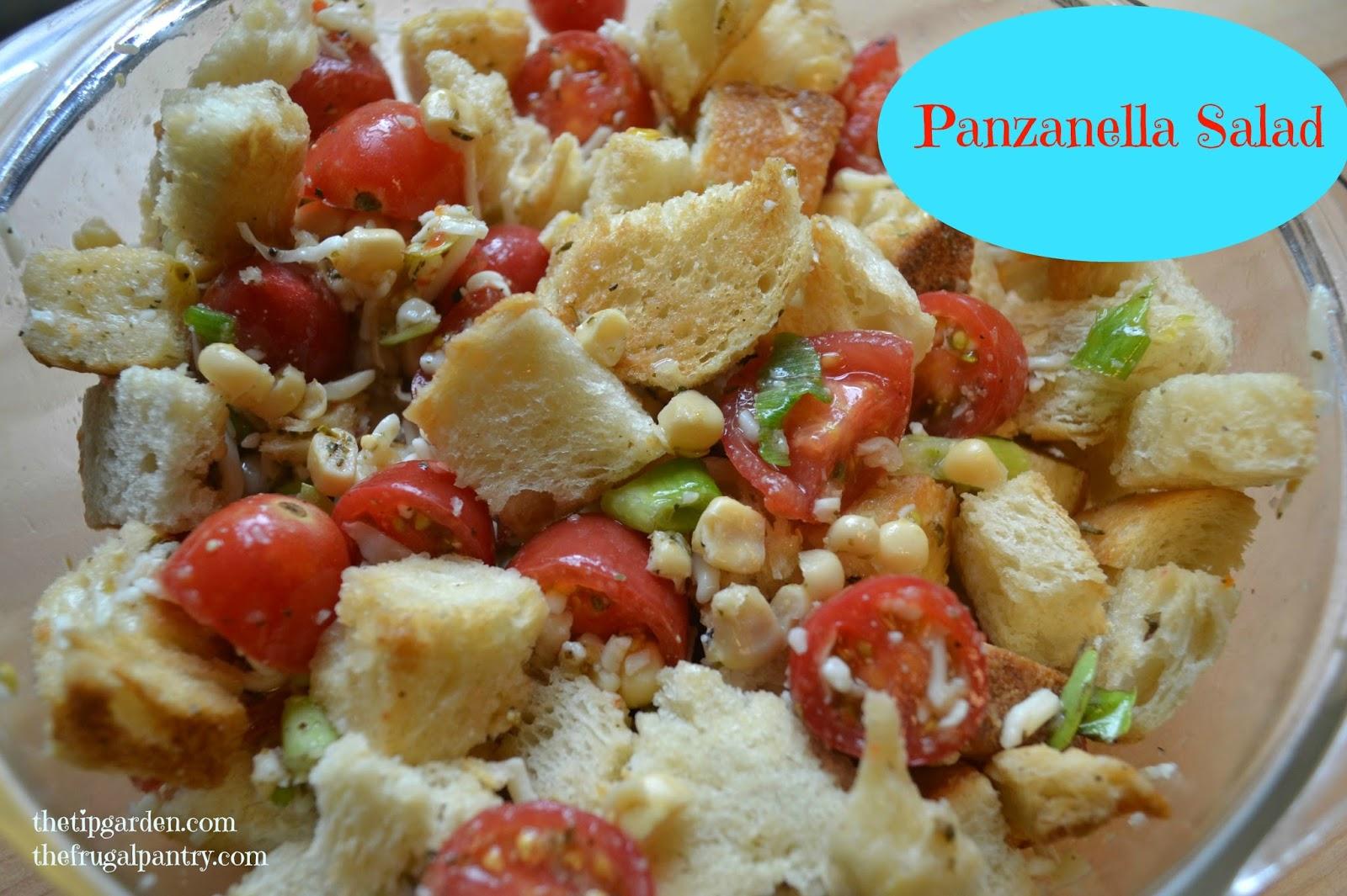 Grilled Cheese Panzanella Salad Recipe — Dishmaps