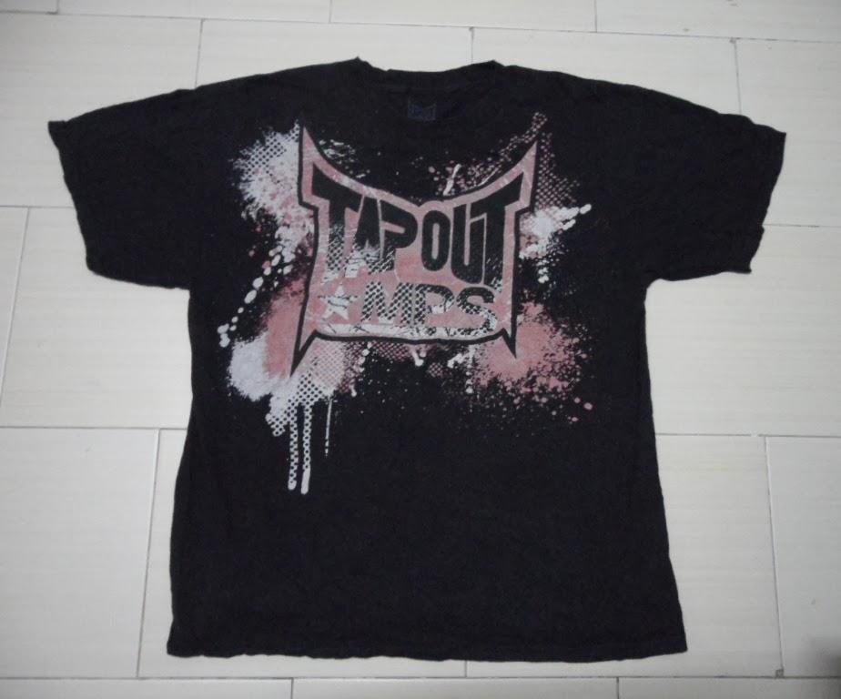 Tapout Mps t Shirt t Shirt Tapout Mps Black l