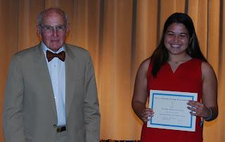 Montgomery Catholic Preparatory School Awards First Sally Evans Hodges Memorial Scholarship 2