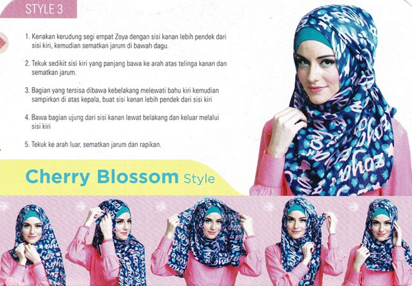 Model Hijab Zoya Terbaru 2015