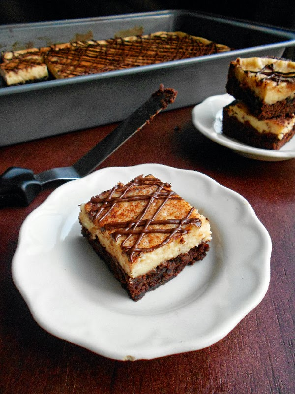 Confessions of a Confectionista: Cappuccino Cheesecake Brownies