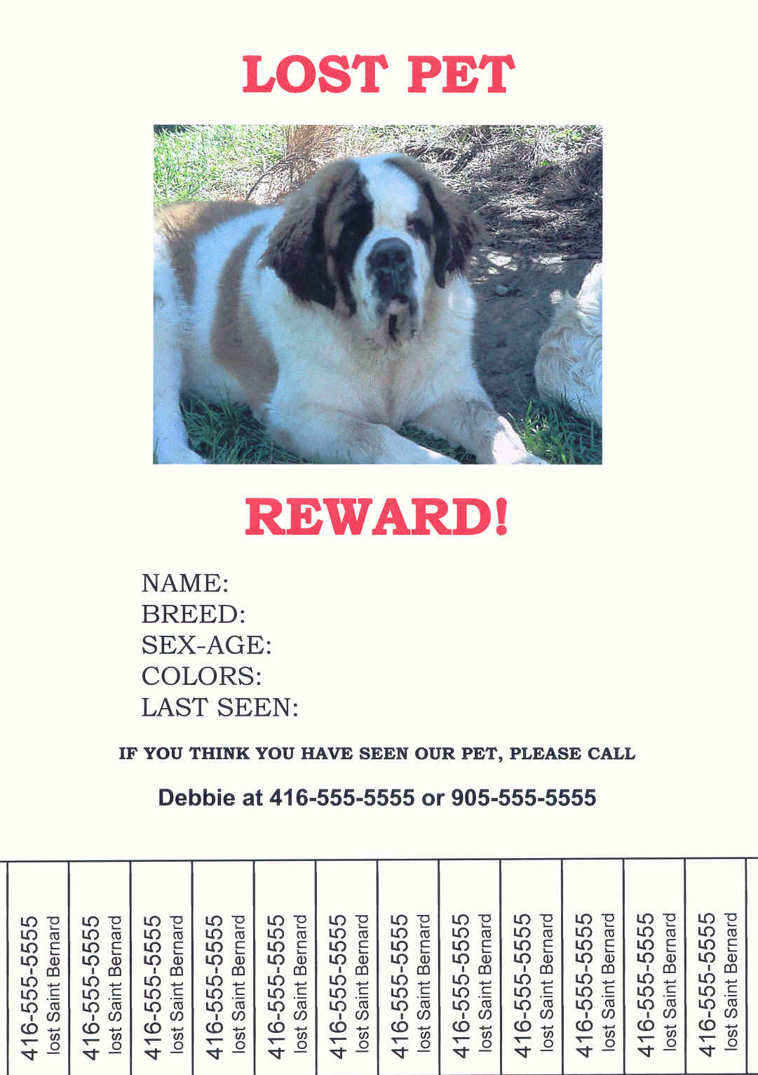 Lost Dog Sign Template Pictures to Pin PinsDaddy – Lost Dog Flyer Template
