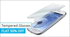 Tempered Glass Screen Guards, Cases & Covers