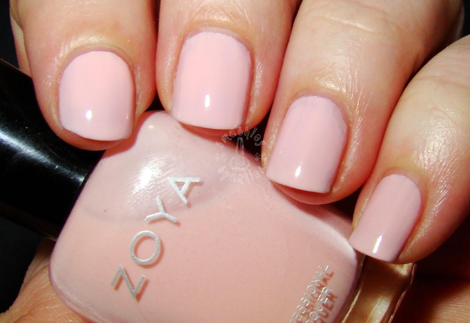 zoya dot a full coverage pink petal cream originally released as dot    Zoya Dot