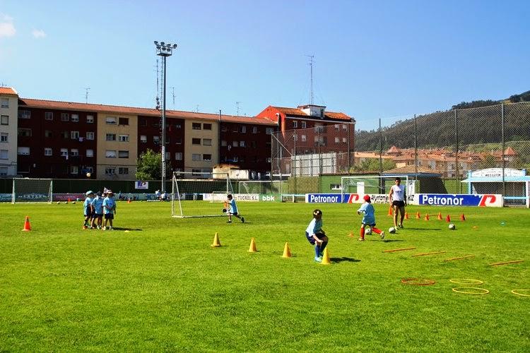 V Campus de fútbol Petronor-Muskiz