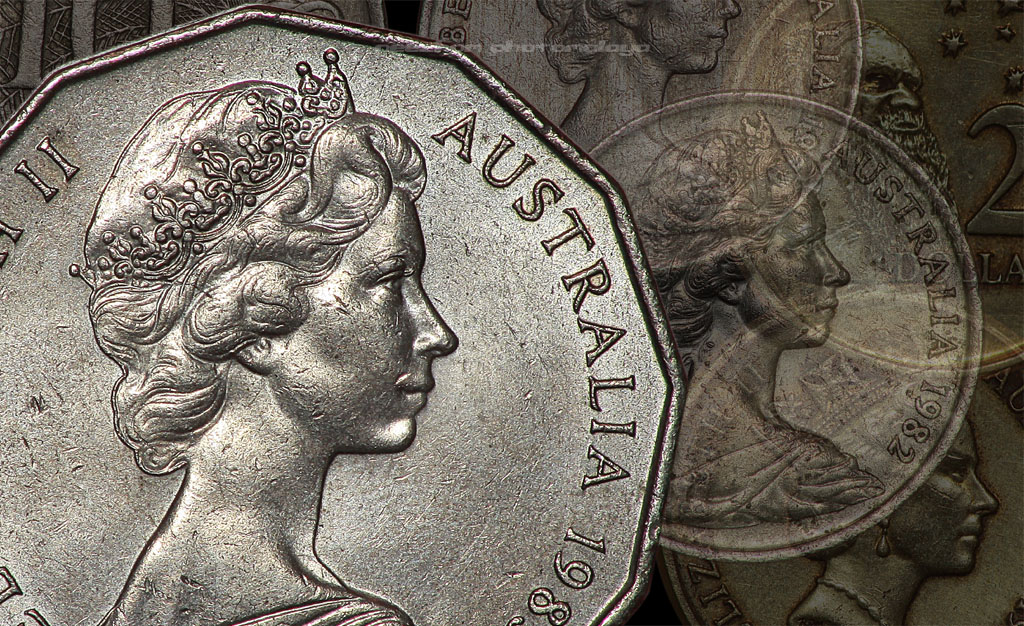 Australia coins collection