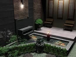 koleksi desain teras rumah dengan kolam ikan terbaru