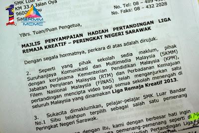 Liga Remaja Kreatif 2013 : 10 Video Terbaik Zon Sarawak
