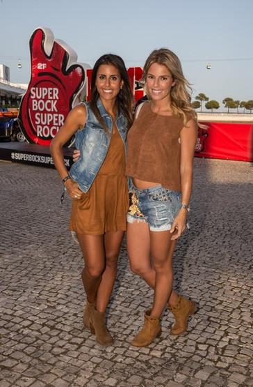 Look de Carolina Patrocínio e Pipinha Jardim - Super Bock Super Rock