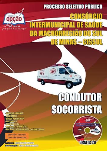 Adquira SAMU Minas Gerais (MG) Completa Condutor Socorrista (CISSUL)