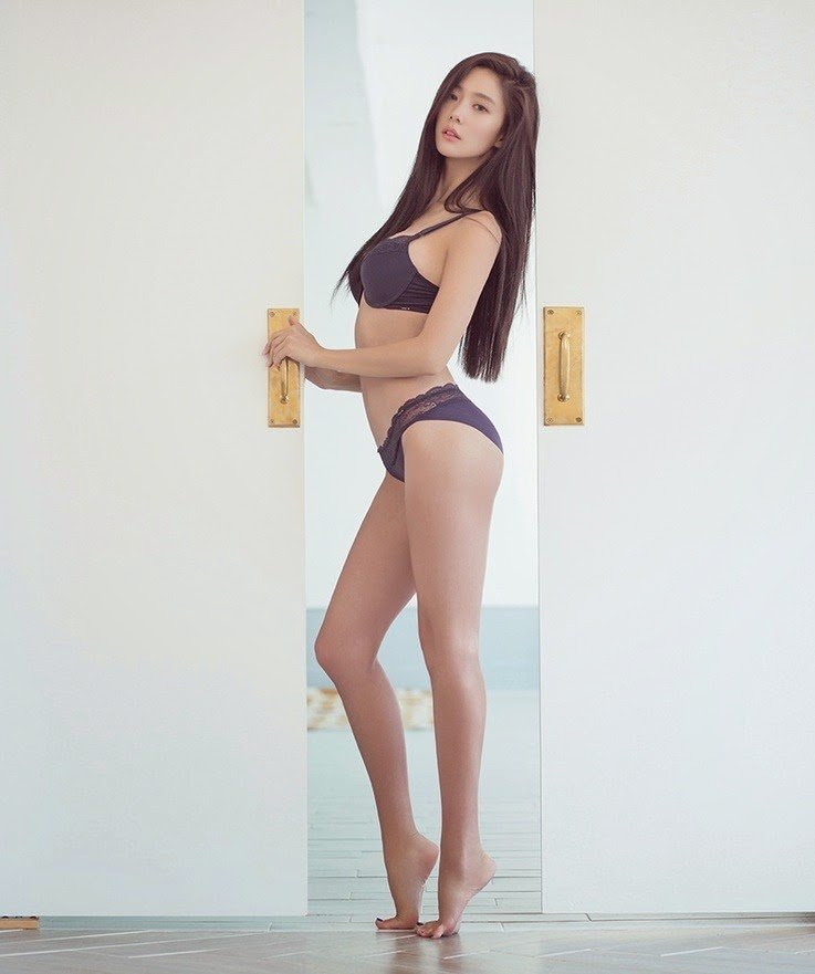 Korean, Clara, Models, Underwear, Underwear Photoshoots