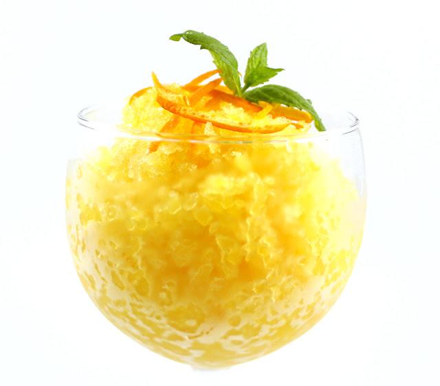 Oppskrift Granite Appelsingranite Hjemmelaget Is Dessert Hvilerett