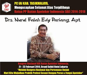 Ketua PP Ikatan Apoteker Indonesia 2014 - 2018