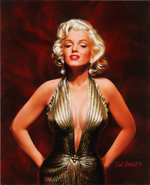 Marilyn Monroe by Dick Bobnick